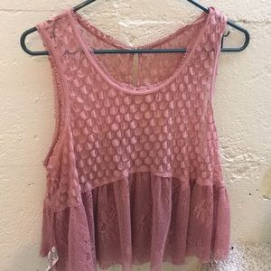 Free People sheer tank